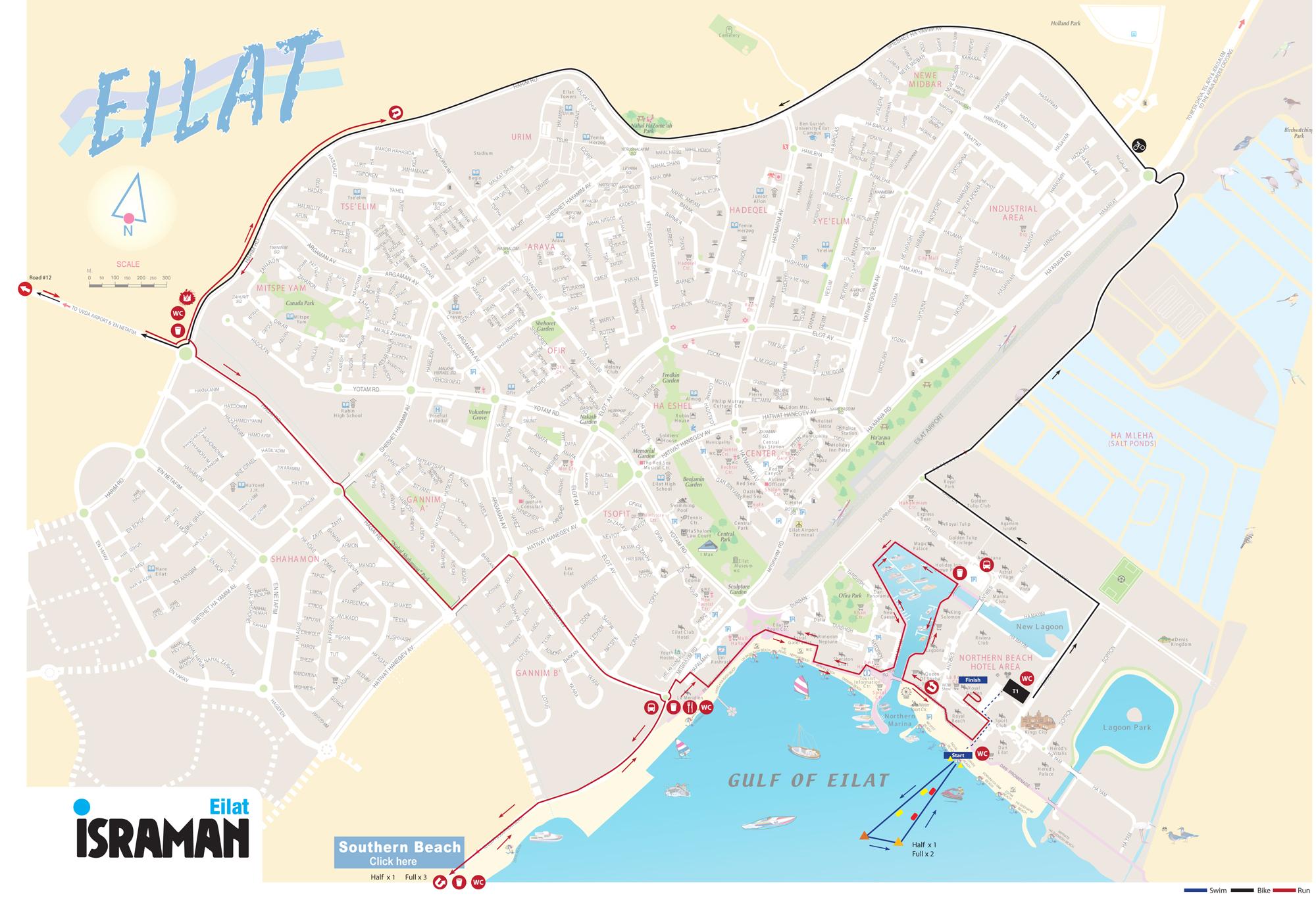 Course ISRAMAN Eilat